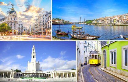 Madrid, Lisbon, Porto and Fatima