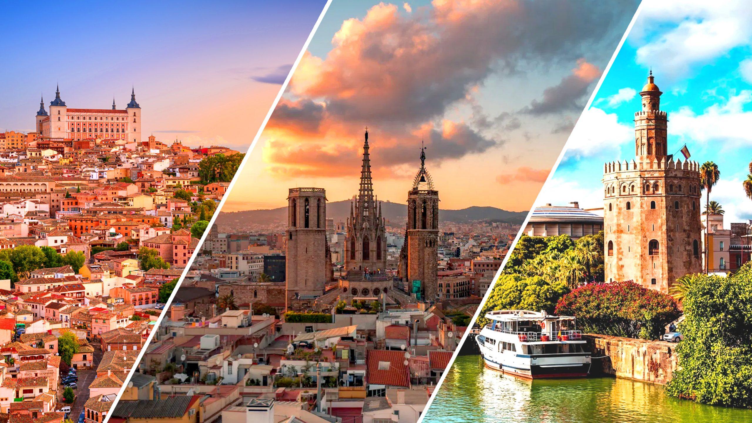 Barcelona - Andalucia - Toledo