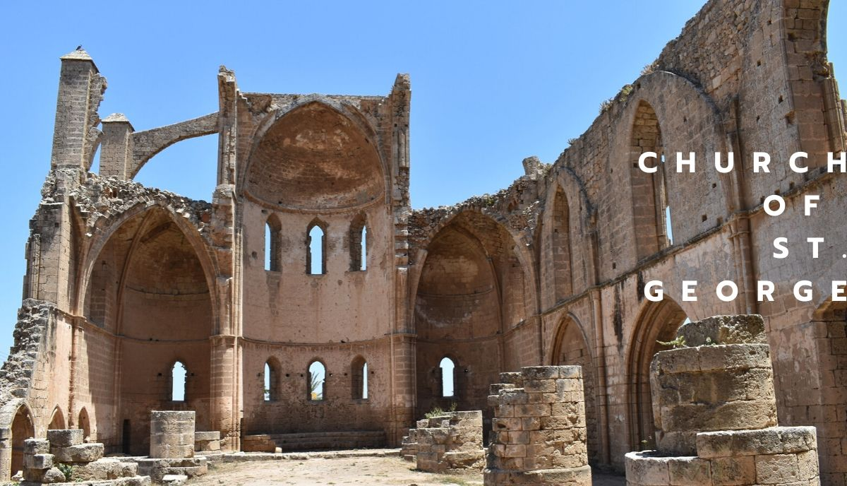 The church of St. George of the Greeks is one of the best places to visit in Cyprus and has great architecture.