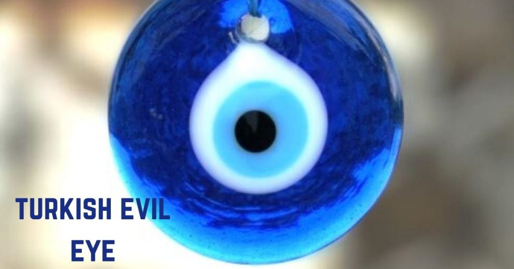 The Turkish evil eye is a famous souvenir from Turkey that is said to ward off evil from the user